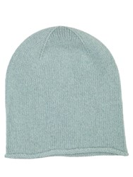 Johnstons Of Elgin Cashmere Jersey Hat Blue