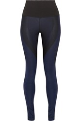 Nike Zoned Sculpt Ribbed Stretch Jersey Leggings Black