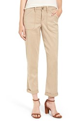 Nydj Women's Reese Relaxed Chino Pants Quicksand