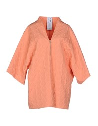 Uniqueness Coats And Jackets Jackets Women Apricot