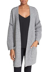 Autumn Cashmere Women's Oversized Open Cardigan