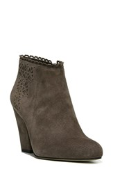 Sarto By Franco Sarto Women's Fairy Bootie Charcoal Grey Leather