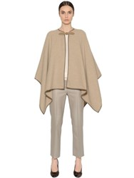 Max Mara Double Wool Cloth Cape