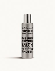 Comme Des Garcons Andy Warhol's You're In In The Future Eau De Toilette 100Ml