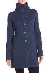 Women's Patagonia 'Better Sweater' Button Front Shirred Coat