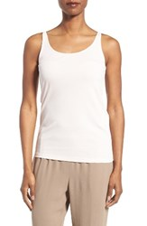 Eileen Fisher Women's Long Scoop Neck Camisole Shell