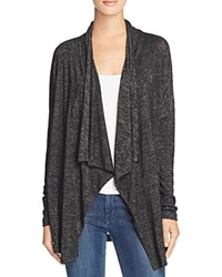 Velvet By Graham And Spencer Textured Knit Cardigan 100 Bloomingdale's Exclusive Black