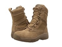 Timberland Valor 8 Duty Soft Toe Coyote Flesh Out Leather Men's Work Lace Up Boots Yellow