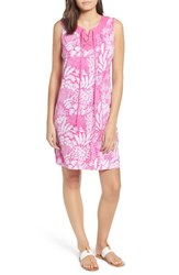 Tommy Bahama Flora Lucia Tie Front Dress Very Berry