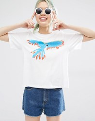 Monki Bird Tee Bird Multi