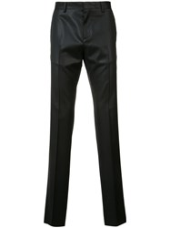 Moschino Tailored Trousers Men Virgin Wool 54 Black