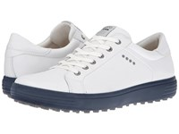 Ecco Golf Casual Hybrid White Marine Men's Golf Shoes