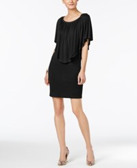 Thalia Sodi Off The Shoulder Ruffled Dress Only At Macy's Deep Black