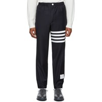 Thom Browne Navy 4 Bar Track Trousers