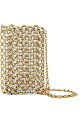 Laura Lombardi Gold And Silver Tone Clutch One Size