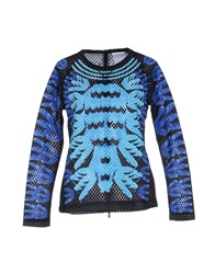 Adidas X Mary Katrantzou T Shirts Sky Blue
