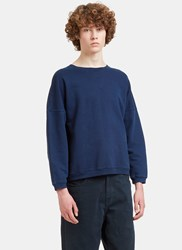 Olderbrother Dropped Shoulder Jersey Sweater Navy