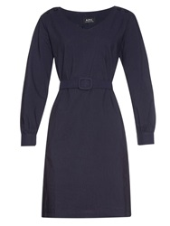 A.P.C. Robe Masha Cotton Dress