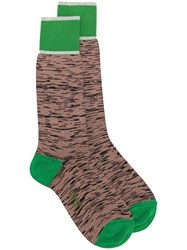 N 21 No21 Patterned Socks Nude And Neutrals