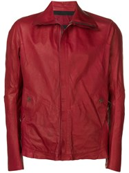 Isaac Sellam Experience Zipped Up Jacket Red