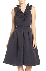 Eliza J Women's Faille Fit And Flare Dress