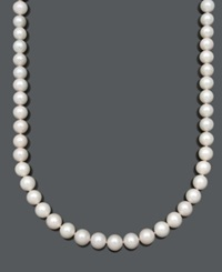 Belle De Mer Aa Cultured Freshwater Pearl Strand Necklace 10 1 2 11 1 2Mm In 14K Gold