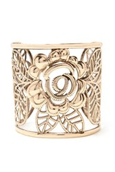 Forever 21 Floral Filigree Cuff