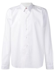 Paul Smith Ps By Long Sleeved Shirt White