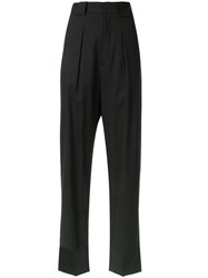 Bambah High Waisted Pleated Detail Trousers 60