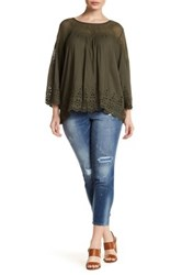 Jessica Simpson Mika Slouch Fit Jean Blue