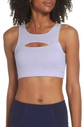 Zella Lana Recycled Sports Bralette Purple Thistle