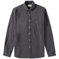 Oliver Spencer Eaton Collar Shirt Grey