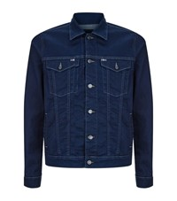 7 For All Mankind Denim Trucker Jacket Male