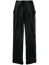 Tom Ford High Waisted Silk Trousers 60