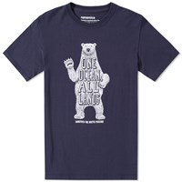 Nanamica Coolmax Polar Bear Tee Blue