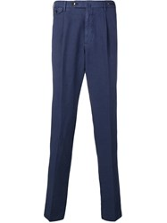 Pt01 Tapered Chinos Blue