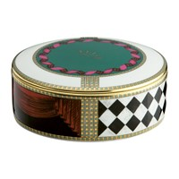 Richard Ginori 1735 Totem Elephant Trinket Box With Lid