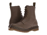 Dr. Martens Pascal 8 Eye Boot Grenade Green Virginia Women's Lace Up Boots Brown