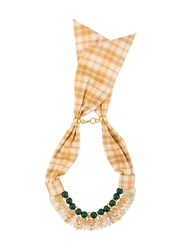 Lizzie Fortunato Jewels Picnic Necklace Yellow