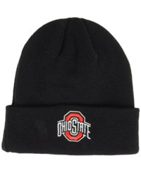 Top Of The World Ohio State Buckeyes Campus Cuff Knit Hat Black