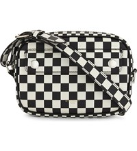 Givenchy Chequerboard Cross Body Bag Blk White