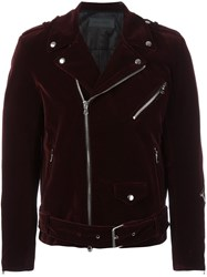 Route Des Garden Biker Jacket Red