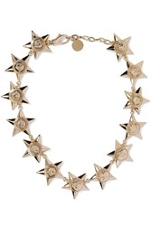 Versace Gold Tone Necklace