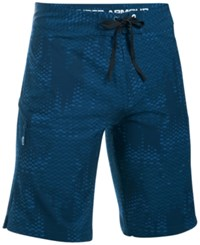 Under Armour Men's Storm Printed Stretch Boardshorts Blue