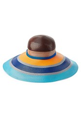 Missoni Mare Wide Brimmed Sun Hat Multicolor