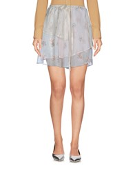Girl By Band Of Outsiders Skirts Mini Skirts Ivory
