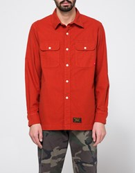 Wtaps Union Ls Shirt Orange