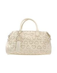 Twin Set Simona Barbieri Handbags Ivory