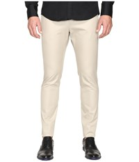 Dsquared Tidy Fit Cotton Twill Chino Pants Stone