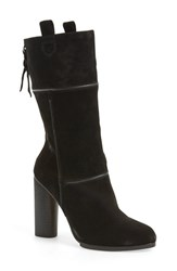 Women's Cynthia Vincent 'Hype' Boot Black Suede